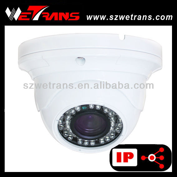 WETRANS TR-RIPD127 1.0 Megapixel 42 LEDs real time IP camera electronic security equipment