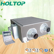 Modular house mechanical ventilation system with high efficiency DC motor