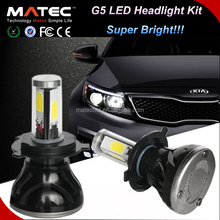Hot sale led volvo truck headlight h7 h4 led headlight p43t