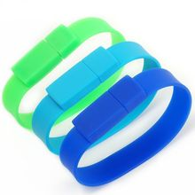 free samples Bracelet Wrist Bands model USB 2.0 Memory Stick Flash pen Drive