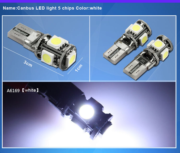 car accessory,auto lamp,t10 series,canbus,error free,bm