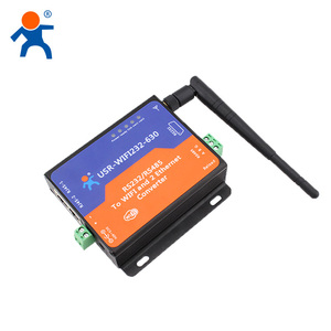 USR-WIFI232-630 Serial to Wifi Server,RS232 RS485 Wifi Ethernet Converter Support Router/Bridge Mode Networking
