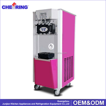 guangzhou manufacture making mobile soft commercial ice cream machine for sale from china