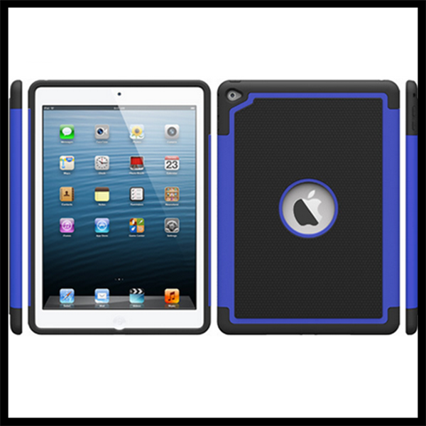 Robot shatter-resistant 2 in1 case for ipad 6