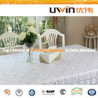 Printed anti-slip table cloth with good quality