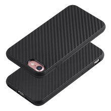 Super Slim 1.5mm Thickness Cool Black Carbon Fiber Texture Mobile Phone Silicon Case for iPhone 6