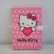New Arrival For Hello Kitty iPad Mini Leather Case ,Wholesale Price For iPad Mini Case,Cute Pink Case For iPad Mini