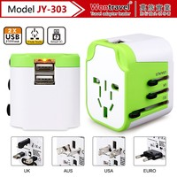 2016 Indonesia Travel Adapter plug usb socket charger with Safety Shutter