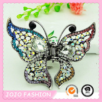 2016 trending products lovely butterfly fashion girl's hair clips