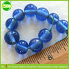 Round Loose Gemstone Blue Cheap Glass Beads