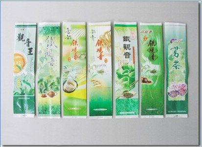 Small Laminated tea packaging