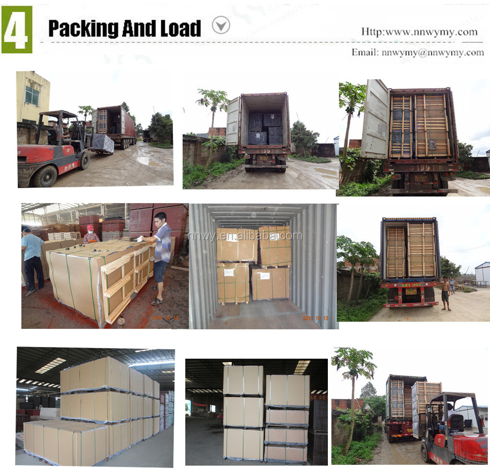 Outdoor Usage and First-Class Grade Construction Plywood