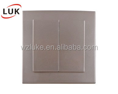 NS2102 Wenzhou LUK ABS Copper Exquisite smart home z-wave wall <strong>switch</strong>