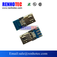 Micro USB 5 Pin Male Connector