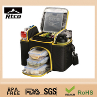 Food Use and 600D+aliminium,Polyester Material Fit and Fresh Lunch Box Bag