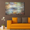Framed Modern Abstract Decorative Oil Painting