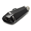 Carbon fiber motorcycle parts And Stainless Muffler For full carbon taper muffler