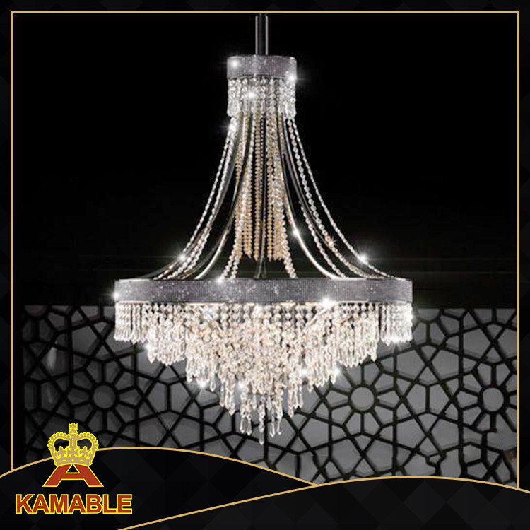 Large lobby Customized hotel chandelier ,hotel lamp
