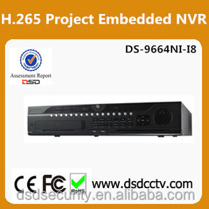 DS-9664NI-I8 Hikvision 64CH H.265 NVR Support 8HDDs Network Video Recorder
