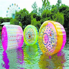 Newly products inflatable balls for people, water walking roller for sale