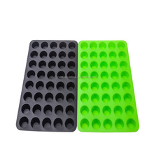 Custom Flexible Food Grade Silicone Cooking Cupcake Bakeware Cake Pan