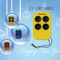 Rf colourful remote transmitter wilreless remote control for gate openerJJ-CRC-SM12