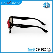 Customized Good Quality Bright Passive Wholesale 3D Glasses 010 RealD Style Passive DLP 3D Projector Glasses Cinema Seating