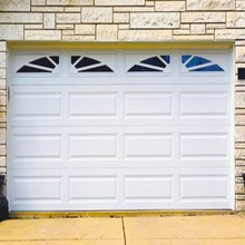 Top quality modern design automatic garage doors with single panel garage door hardware