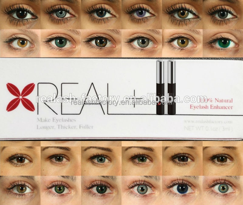 Effective and high quality Advanced REAL+ Eyelash Growth Organizes the best condition to form healthy hair root. eyelash growth