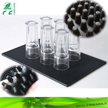 custom 3d rubber bar mat eco-friendly soft pvc bar drip mat bar counter mat