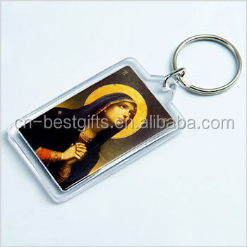 2015 Customed shape acrylic keyrings
