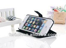 for iphone 5 Deluxe rotating luxury leather