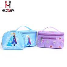 Modern makeup bag Korean styles OEM and ODM women travel basics modella polyester cosmetic bags and cases set for wholesale