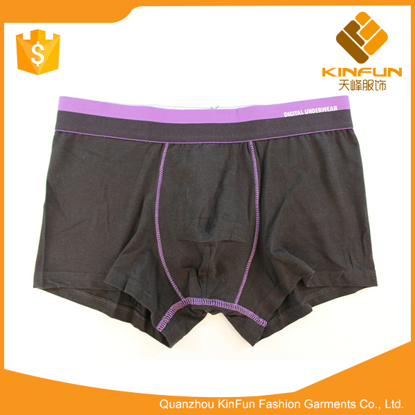New Design free collocation U convex middle waist panties made for men