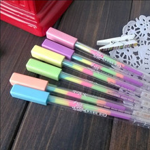 Japanese and Korean creative rainbow milky pen