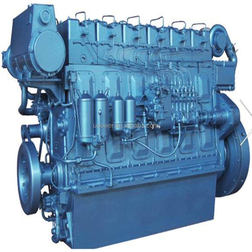 New product!WEICHAI R6160 series marine diesel engine in WEIFANG China.