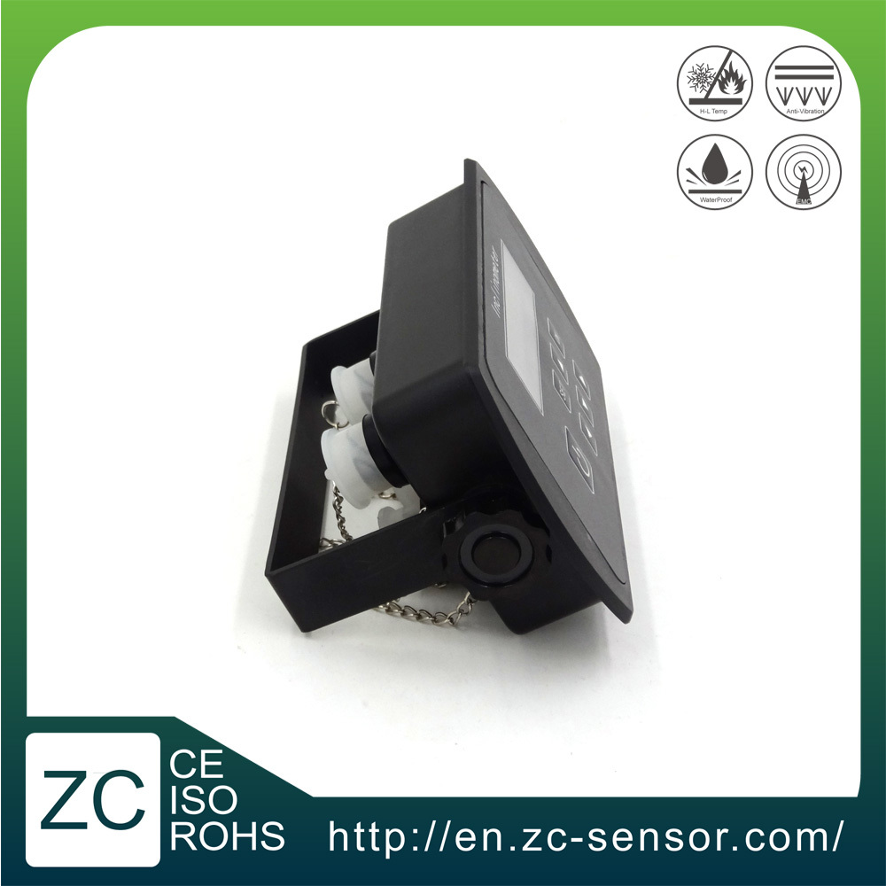 (ZCT-CX05-RC01) Hot Selling With LED Display and Buzzer CE Approved Digital Angle Tilt Sensor in Dumper