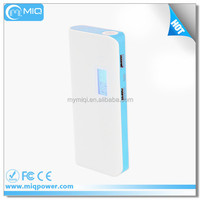 Dual USB portable charger power bank multi functional powerbank 10000mah for iphone 6 plus