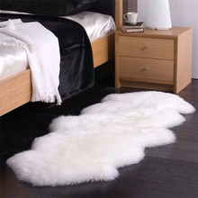 Pure wool carpet sheepskin sofa cushion piaochuang pad mats bed rug wool blanket Area Rugs For Home Living Room