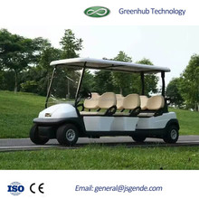 GD2066 Electric 6 Seats hunting golf car with good price