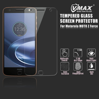 Free Sample Premium AGC Tempered glass screen protector for Motorola MOTO Z Force / Anti blue light screen protector