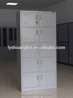 Big wardrobe furniture/ coin locker / steel mash locker10 doors storage cabinet