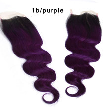 4*4 13*4 ear to ear frontal lace closure with two tone remy virgin human hair bundles body wave kinky curly loose wave weaving
