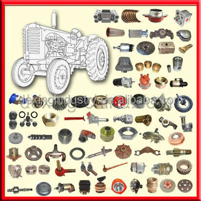 Supply Foton Tractor Spare Parts with Good After Sale Service