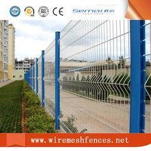 200*50 mm 3D Curved Wire Mesh Fence / Wire Mesh Fence / Welded Fence Mesh for Boundary Wall