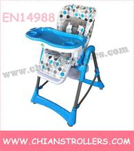 Fashion Baby High Chair baby product with EN14988 Approaed