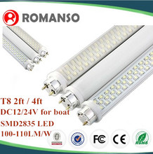 t8 4x18w prismatic diffuser luminaires t8 fluorescent lamp fitting 18w 6 led work light bar lamp 12v
