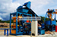 Cement Brick and Block Making Machine (FT 24 AH)