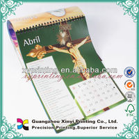 Plastic Sliding Date Cane Wall Scroll Promotional Calendar
