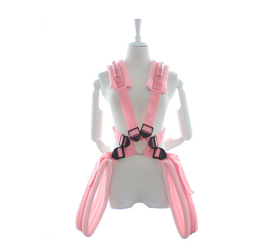 adult wearing bondage indoor shoulders sex love swing for couple toys restraints